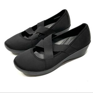 Crocs Busy Day Strappy Comfort Wedge